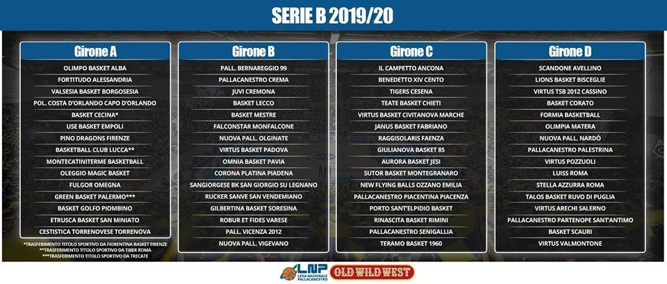 Serie B Diramato Il Calendario Per La Stagione 2019 2020 Basket Corato